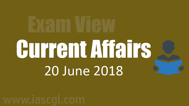 Current Affair 20 June 2018