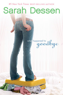 WHAT HAPPENED TO GOODBYE - BOOK COVER