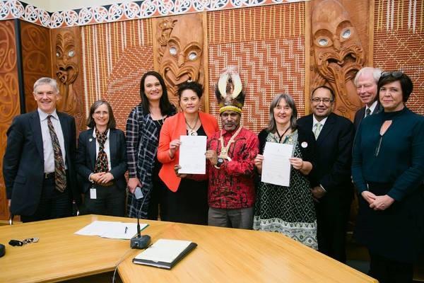 9 Anggota Parlemen NZ Teken Deklarasi Referendum Papua