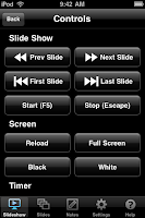slideshow remote powerpoint