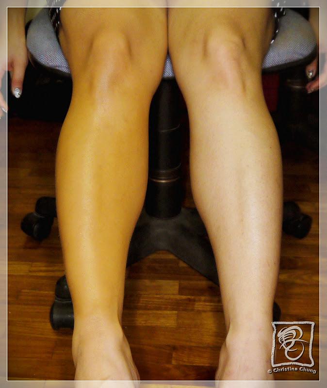 tried tested sally hansen s airbrush legs huney z world