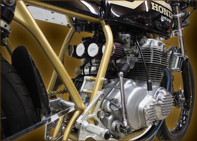 Honda CB400 By Innovative Motorsport Hell Kustom