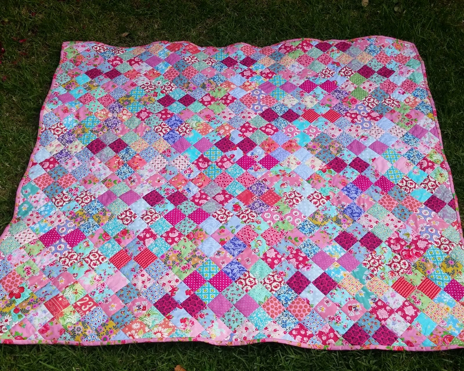 Rose Tea-Party Quilt