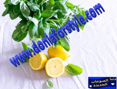 رجيم الماء والليمون | للتخسيس وفقدان الوزن بدون مجهود