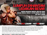 Ormas GNI dan GAAS Kota Medan: #Siap Bantu Lebanon