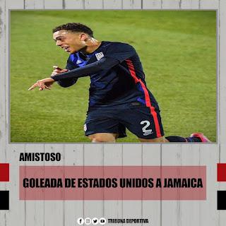 ESTADOS UNIDOS VS JAMAICA (LOS AMERICANOS BAILARON REGGAE)