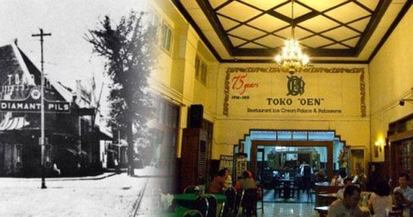 """Restoran Toko """"OEN"""" Semarang"""