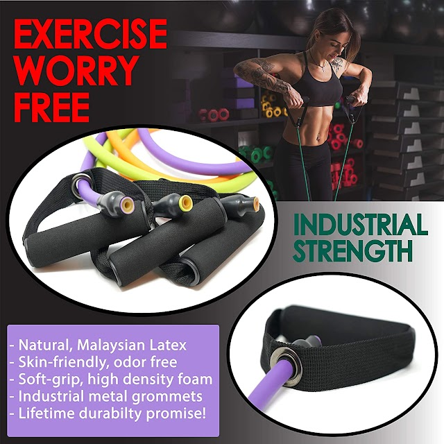 Workout Bands for Men with Fitness Tension Bands in 2020 Review | Guide