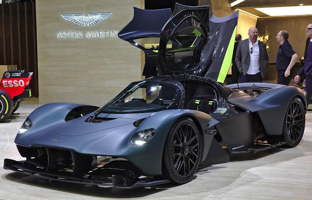 2019 Aston Martin Valkyrie- best for hypercar lovers