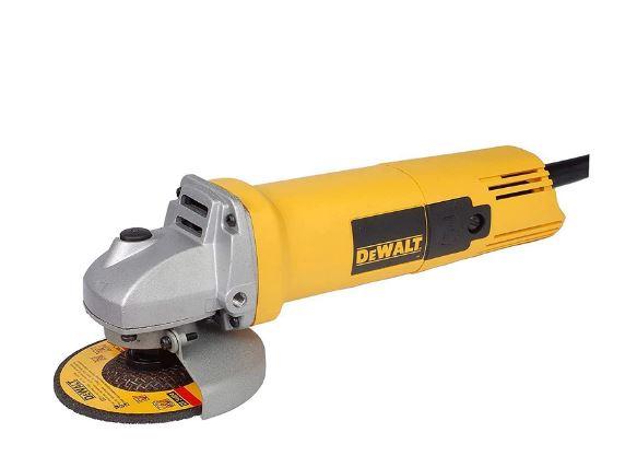 DEWALT DW801 850Watt 100mm Heavy Duty Small Angle Grinder