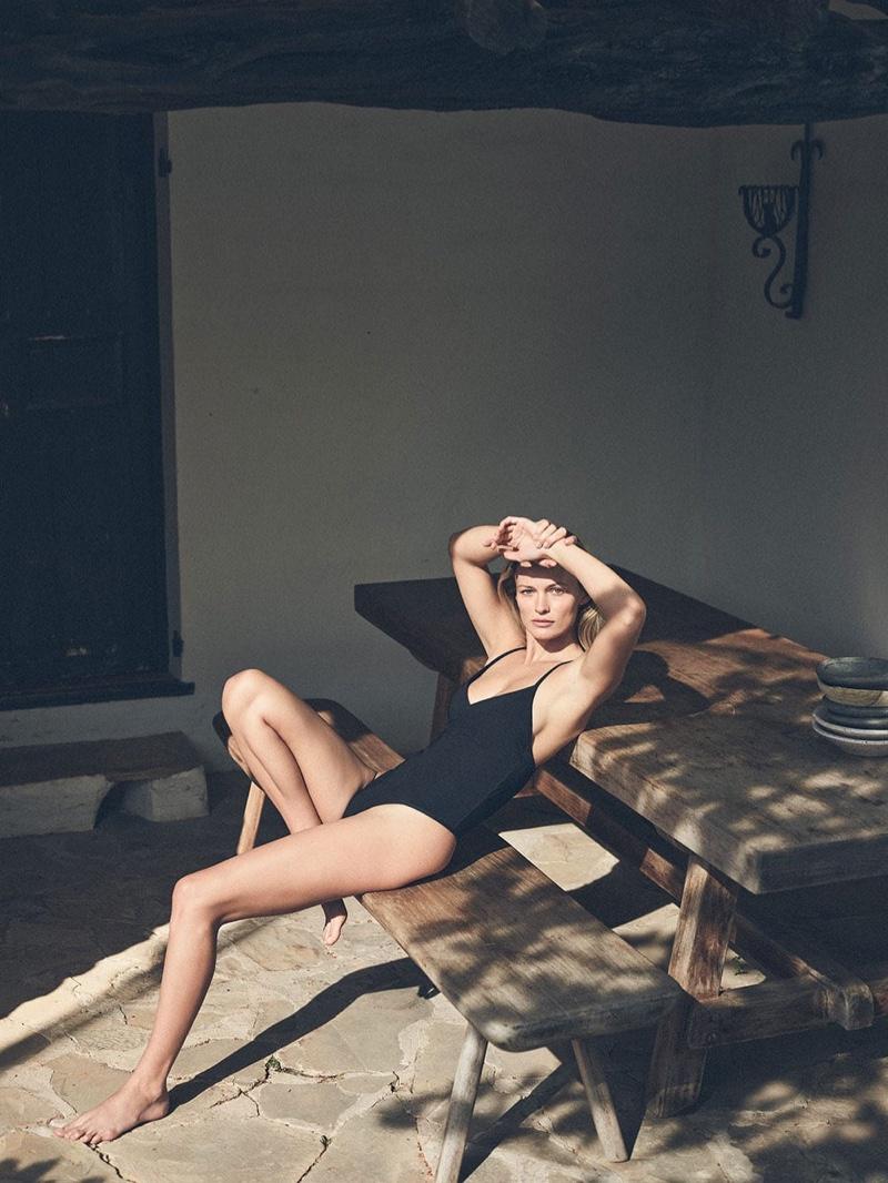 Zara Home V-Neck Swimsuit.