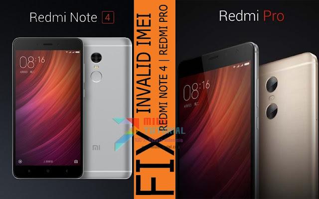 IMEI Xiaomi Redmi Note 4 dan Redmi PRO Kamu Hilang Tak Kunjung Kembali? Coba Tutorial Fix IMEI Maui META Berikut Ini