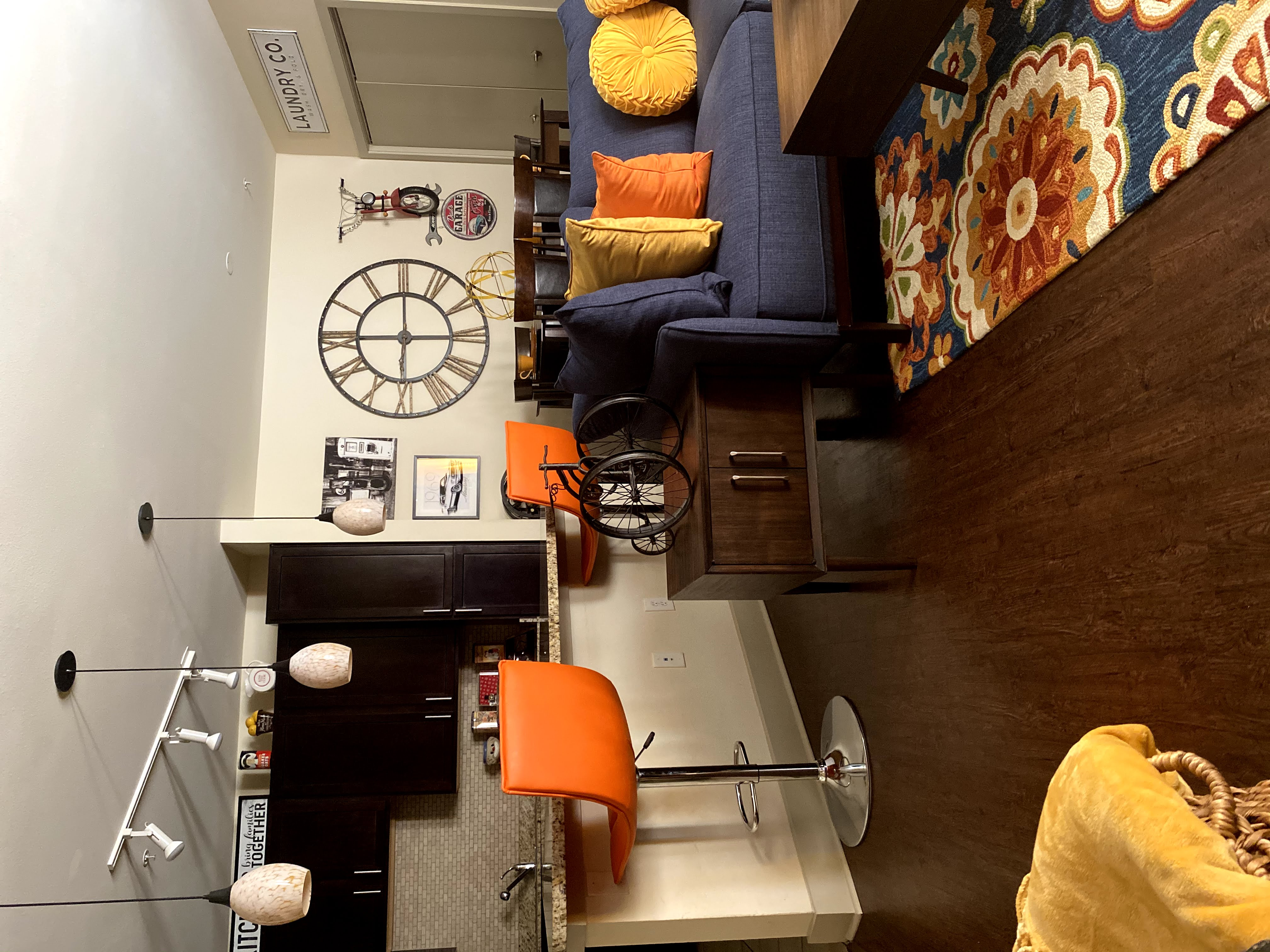 Tour My Mix Matched Thrifted Common Area!