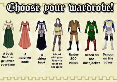 Medieval-A-Thon Prompts - Choose Your Wardrobe