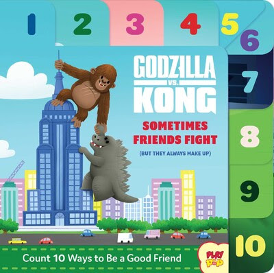 Godzilla vs Kong Sometimes Friends Fight Children's Book