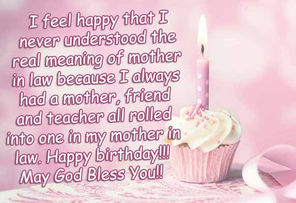 Heart Touching Birthday Wishes for Mother in Law
