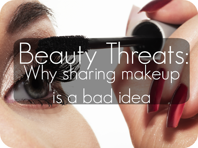 why you should never share makeup with others