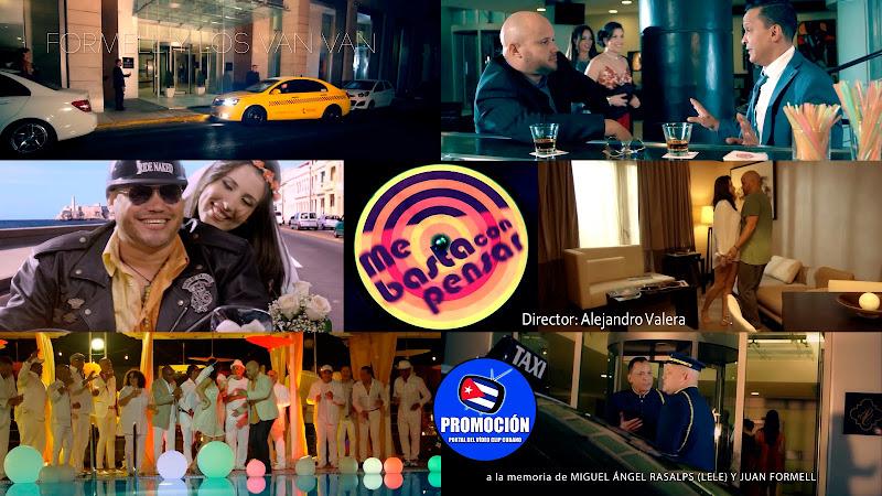 Los Van Van - ¨Me basta con pensar¨ - Videoclip - Dirección: Alejandro Valera. Portal Del Vídeo Clip Cubano. Música cubana. Son. Salsa. Cuba.