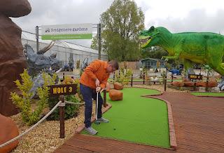 Jurassic Golf Bridgemere in Nantwich