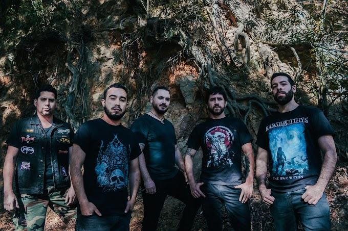 La icónica banda de death metal penquista Radamanthys, lanzó esperado álbum debut The War Within