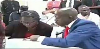 See How English Messed up This Teacher before Adams Oshiomhole