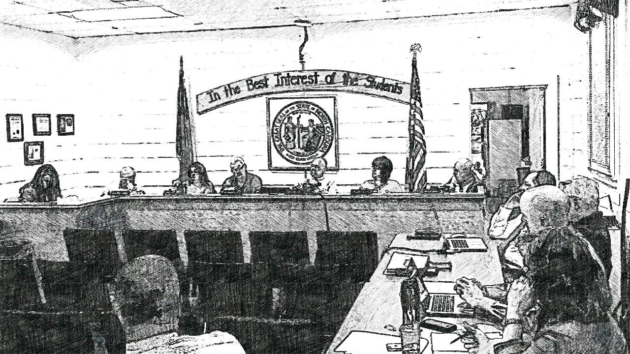 Sketch of the Macon County Board of Education  for August 2016 Regular Meeting