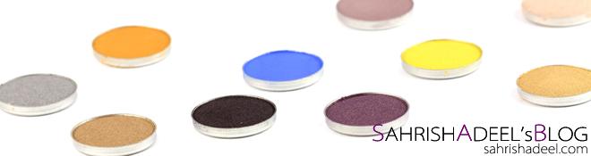 Makeup Geek Pressed Eyeshadows - Review & Swatches