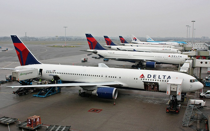 Delta commits to blocking middle seats through Sept. 30 to stem spread of Coronavirus.