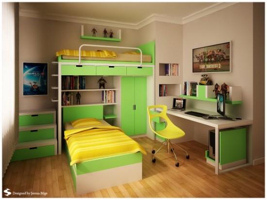 Desain Kamar Tidur Minimalis Interior Unik Dan Nyaman ...