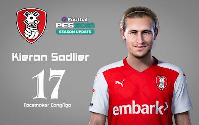 PES 2021 Faces Kieran Sadlier by CongNgo