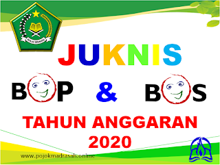 juknis bop dan bos madrasah 2020
