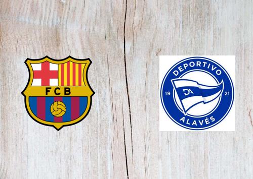 Barcelona vs Deportivo Alavés -Highlights 13 February 2021