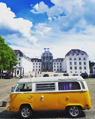 Vanlife T2 Westfalia Road trip calendar Saarbrucken