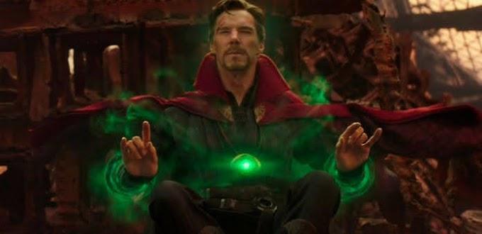 Dr. Estranho usa armadura do Homem de Ferro em foto inédita.