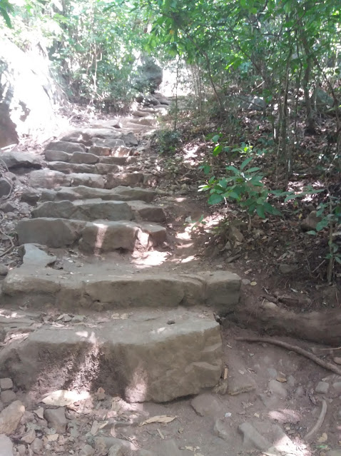 escaleras roca pidurangala sri lanka