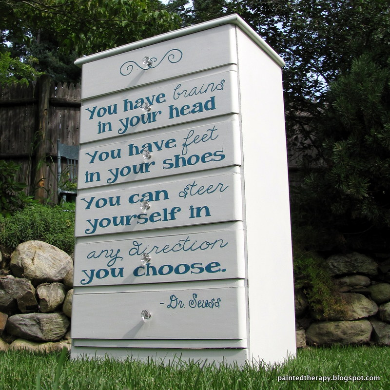 Dr Seuss Quotes Love Quotes On Canvas Original Painting 11x14: Painted Therapy: Meet Theodor, The Dresser