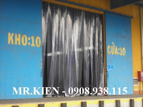 Rèm cửa nhựa PVC ngăn thất thoát hơi lạnh Kho vẩn tải Hanjin Logicstics Việt Nam