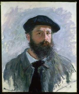 Self Portrait with a Beret - Claude Monet