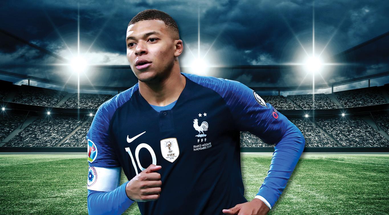 "French ""Golden Boy"" Kylian Mbappe"