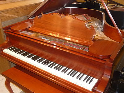 photo of Steinway art case King Louis XV