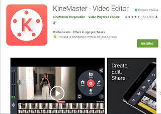 Kinemaster without watermark apk download