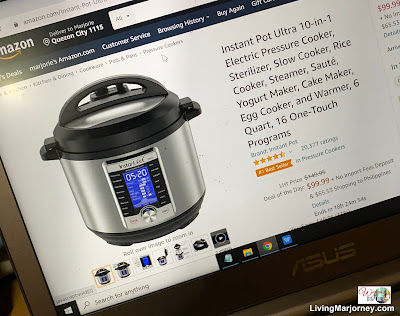 Instant Pot Ultra 10-in-1 on sale in Amazon
