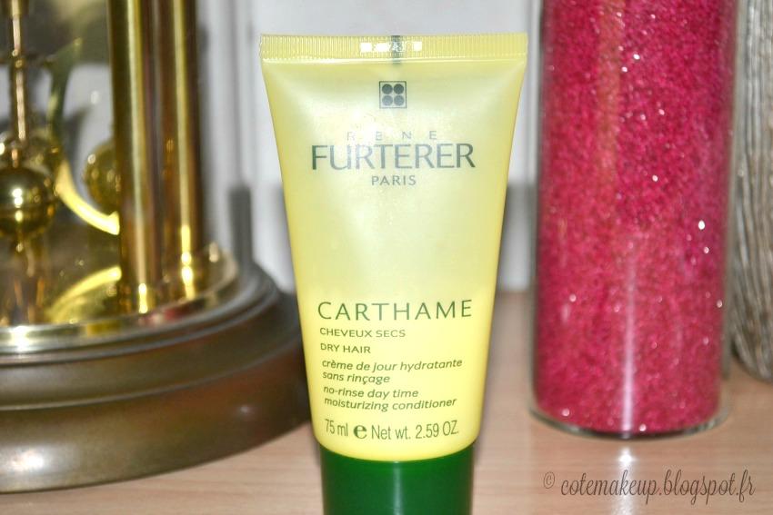 avis crème hydratante cheveux secs carthame rené furterer by cotemakeup.blogspot.fr