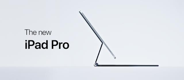 Apple anuncia novo iPad Pro com câmera dupla e scanner LiDAR