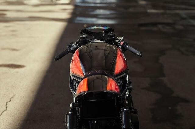 Kawasaki Z900RS By Oficina MRS Hell Kustom