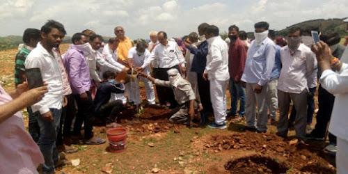 Plantation by Bharatiya Janata Party Board Udaipur Rajasthan News Vision Hindi Samachar