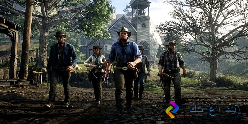 لعبة Red Dead Redemption 2