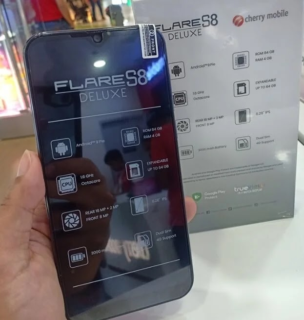 Cherry Mobile Flare S8 Deluxe Specs, Price, Availability