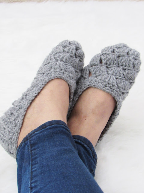 Easy Crochet Slipper Pattern