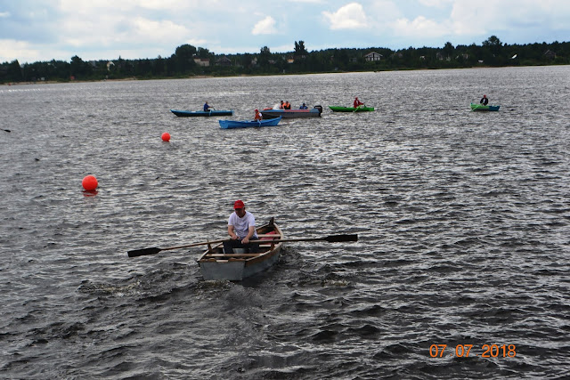 праздник лодки в Устье
